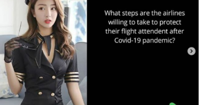 Dress Code for Flight Attendant after Covid-19