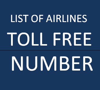 Airlines Toll Free Number